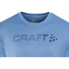 Craft Prime Logo Løbe T-shirt Herrer blå